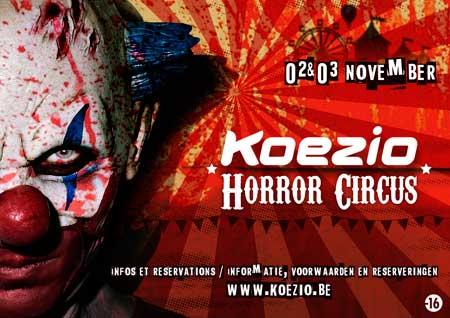 Halloween au centre d'entraînement Koezio